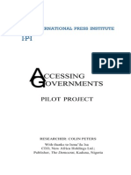 IPI Accessing Governments