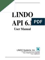 LINDO Users Manual
