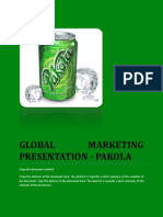 Global Marketing Presentation Pakola