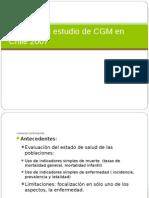 Análisis Del Estudio de CGM en Chile 2007