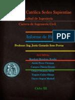 INFORME FISICA MOVIMIENTO DE LOS CUERPOS