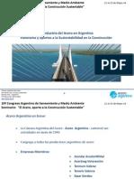 La industria del Acero en Argentina - Panorama y Aportes a la Sustentabilidad en la Construcción
