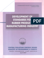 Development of Standards for Rubber Products Manufacturing Industry