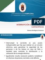 Diapositivas Interrupción de Corrientes Capacitivas - Beimar Rodríguez