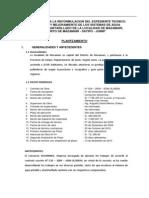Expediente Reformulado de Mazamari 2010