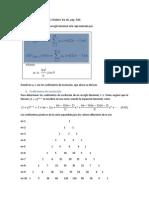 Arreglo Binomial