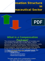 Compensation Structure in Pharmaceutical Sector