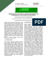 Importanta Ecologiei CA Stiinta Descriptiva
