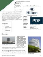 Hilton Hotels & Resorts - Wikipedia, The Free Encyclopedia