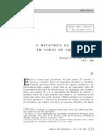Henrique c. de Lima Vaz - A Metafísica Da Ideia Em Tomás de Aquino