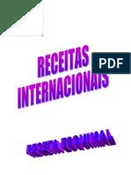 RECEITAS INTERNACIONAIS