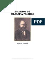 Bakunin - Escritos de Filosofía Política