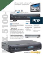 Panamax Max 5100EX Brochure