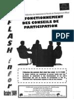 Fapeo Flash Infor 2009-10 Conseil de Participation