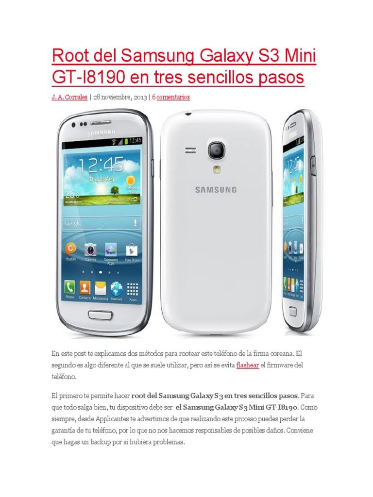 Cable datos USB para Samsung Galaxy s3 mini i8190 cable de datos nuevo