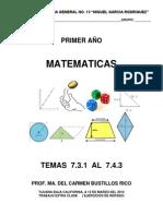 Cuadernillo de Matematicas