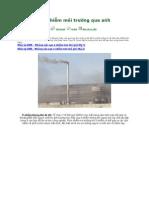 10 vấn đề ô nhiễm môi trường qua ảnh
