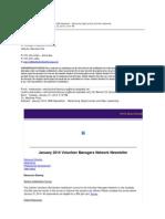 January 2014 VMN Newsletter