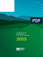ANP OIL, NATURAL GAS AND BIOFUELS STATISTICAL YEARBOOK 2013