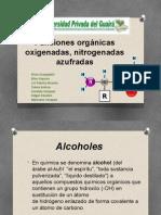 Funciones Orgánicas Oxigenadas, Nitrogenadas Azufradas