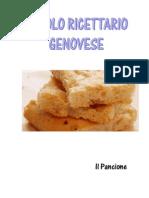 Ricette - Piccolo Ricettario Genovese - Il Pancione