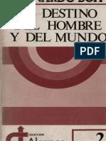 BOFF, L., El destino del hombre y del mundo. Ensayo sobre la vocación humana, Sal Terrae, Santander (1).pdf