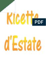 Ricette - Ricette d'Estate