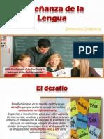 Enseñanza de La Lengua PDF