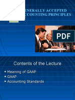 Generally Accepted Accounting Principles | Debits And