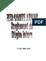 REGLAMENT DE RÈGIM INTERN 09-10