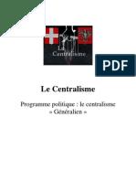 Le Centralisme