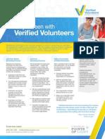 Verified Volunteers Overview