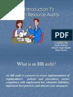 HR AUDIT INTRODUCTION