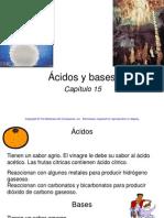 Diapositivas Para Clase de Ácidos y Bases