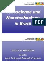 Nanoscience and Nanotechnology in Brazil