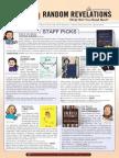 Random Revelations Fall 2014 Catalog
