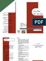 Gsdgc Brochure