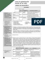 Evaluación. Modelo B. El Proceso de Globalización y El Mundo de Las Redes (Soluciones)