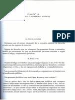 Gonzalo Ruz - Explicaciones. Parte General y Acto Juridico. Pags. 215 - 230. Personas Juridicas