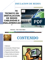 Simulaciòn Redes Con Packet Tracer