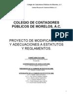 Estatutos del Colegio de Contadores Públicos