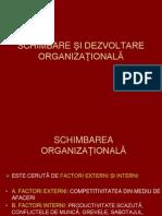 7.Schimbare Si Dezvoltare Organizationala