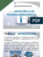 1 Introduccion Pruebas Hidrostaticas