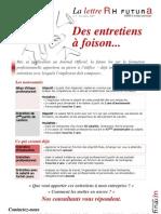 Lettre d'Information RHF Novembre 2009