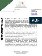 Pressemitteilung | Bundesratsinitiative Fracking
