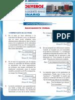 Problemas de Ingreso a La Universidad Del Callao-2010-2