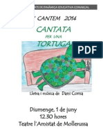 Programa Cantata Tortuga