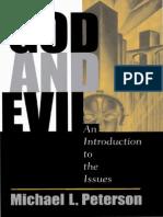 Peternson Michael. l. - God and Evil