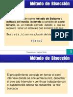 Método de Bisección 2011(3)