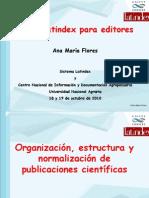 Organizacin Estructura y Normalizacin